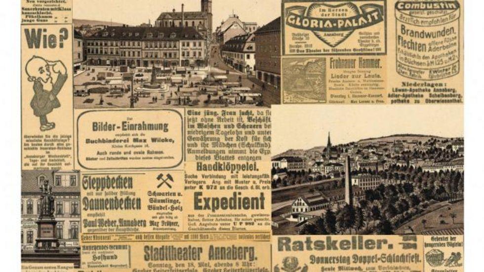 """Ein Ausschnitt des Plakates zum diesjährigen """"Tag der Heimatgeschichte"""""""