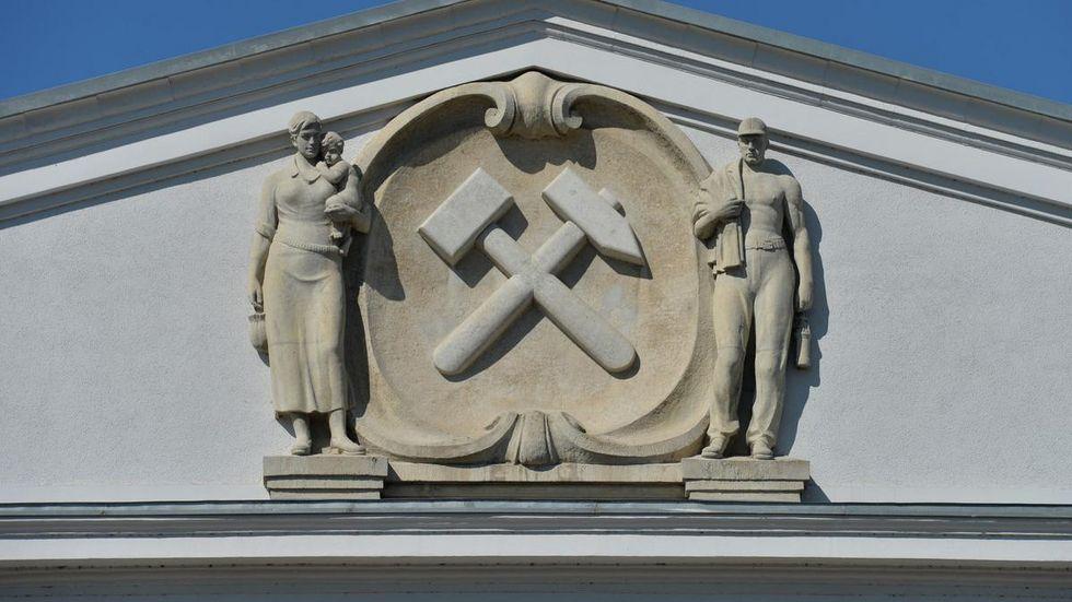 Symbolbild Wismut Generaldirektion: dpa