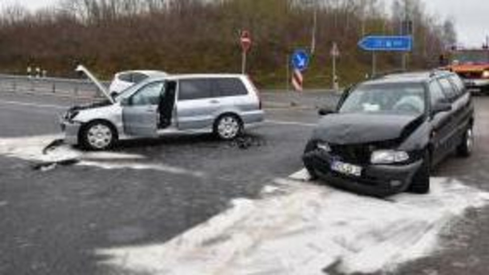 Die Kreuzung war nach dem Unfall voll gesperrt.