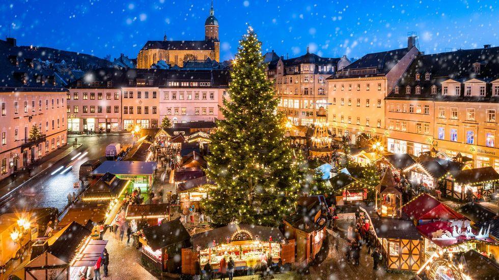 Ab Freitag lädt der Annaberger Weihnachtsmarkt zum Bummel ein. Foto © Eyetronic