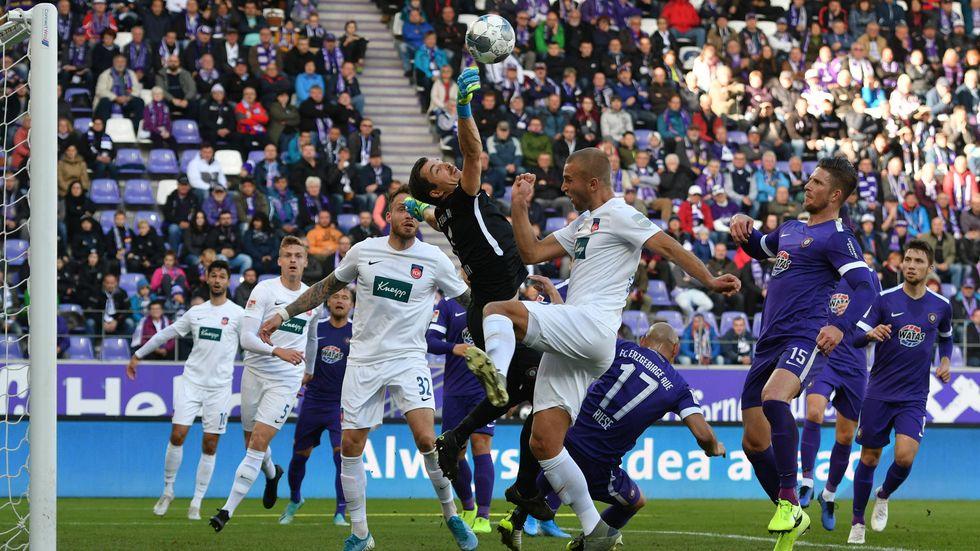 Erzgebirge Aue hat sich am Samstag im Heimspiel vom 1. FC Heidenheim 1:1 getrennt.