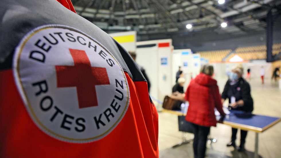 Impfzentrum in Stadthalle Zwickau