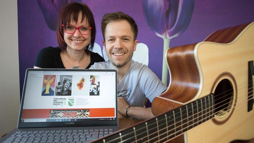 Isabell und Sven Haase machen Musik und unterstützen andere Künstler.