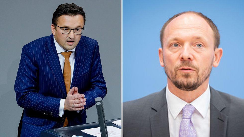 Carsten Körber (l.) und Marco Wanderwitz