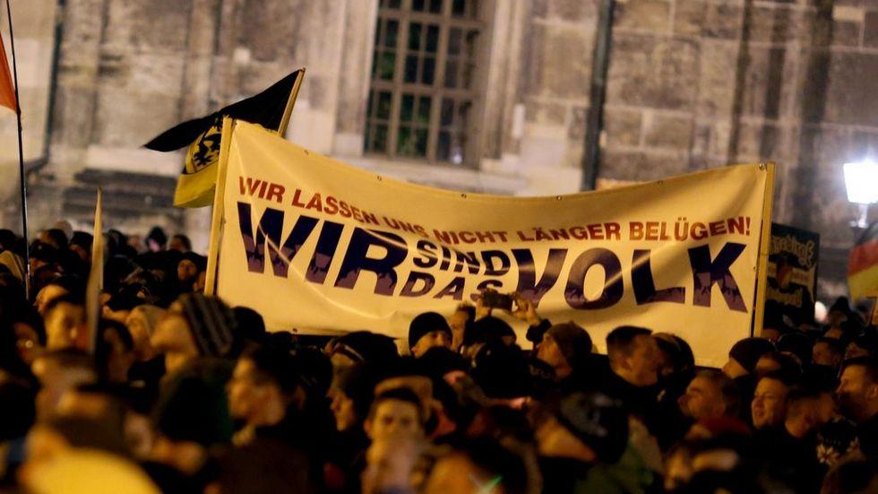 Demo in Dresden (Archivfoto)