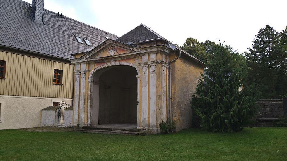 Das Mausoleum aus dem Jahre 1685 soll saniert werden.