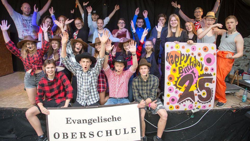 Zum Jubiläum haben Schüler ein Musical einstudiert.