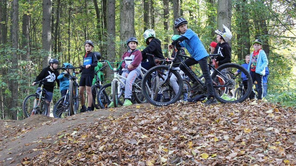 Der Dirt-Bike-Park in Annaberg ist ein Angebot für Jugendliche.