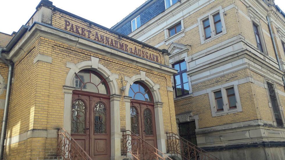 Die ehemalige Post in Annaberg ist ein Bestandteil des neuen Finanzamtes.